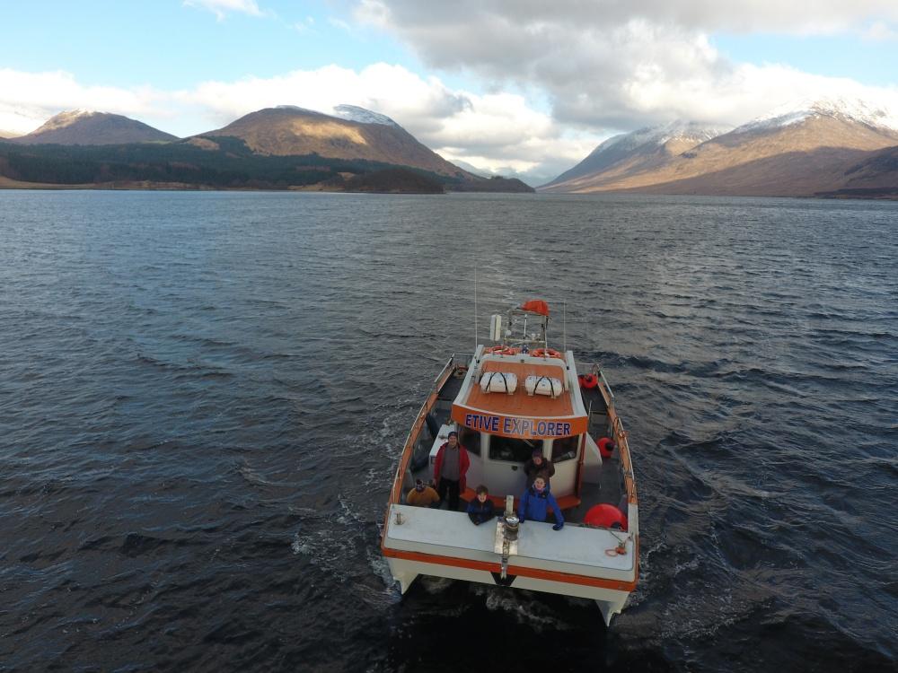 Cruising Loch Etive near Oban