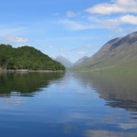 Loch Etive at the Barrs from Etive Boat Trips