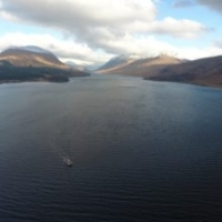 Etive Explorer cruising on Loch Etive
