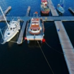 Etive Boat Trips, catamaran Etive Explorer at Dunstaffnage Marina, Oban