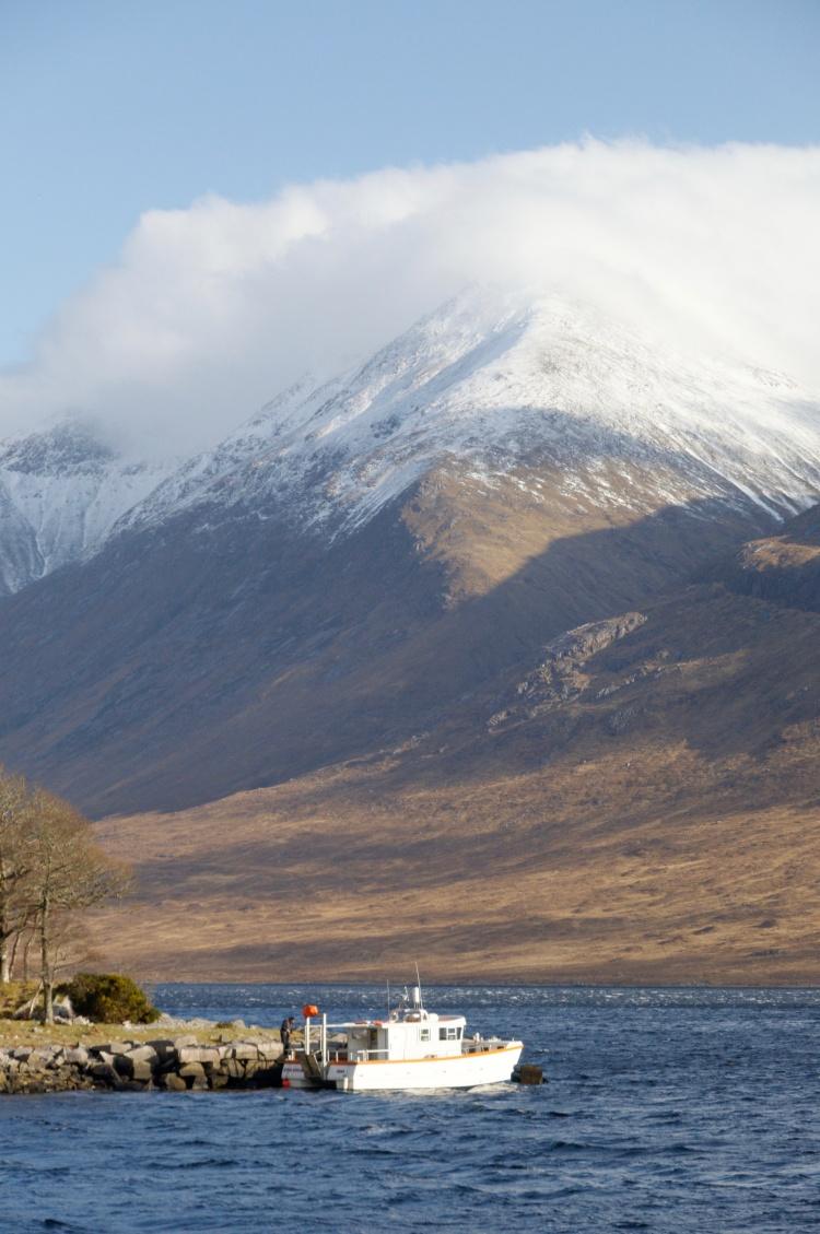 Near the Barrs on Loch Etive