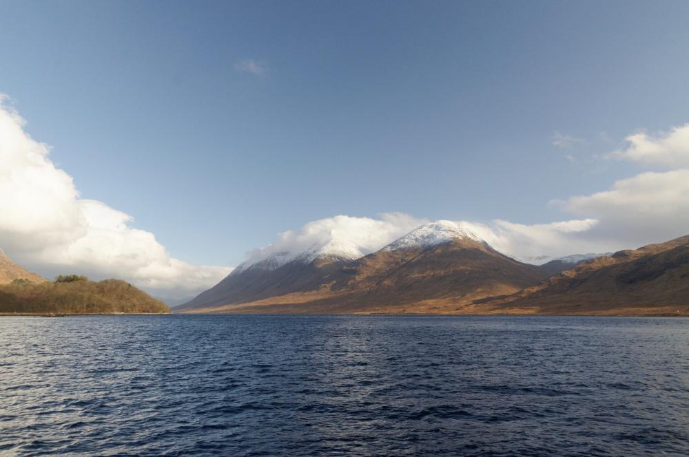 Stob an Duine Ruaidh from Loch Etive