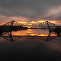 Connel Bridge at Sunset