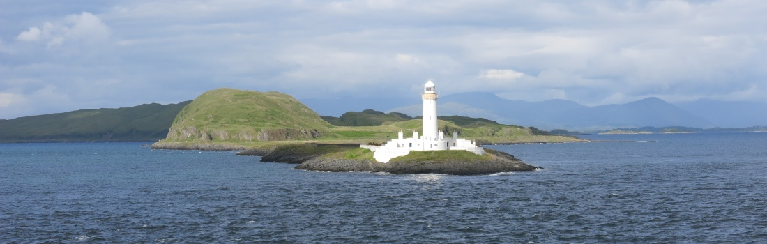 Islands, lighthouses, castles