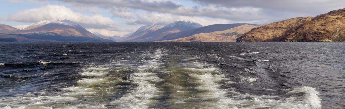 Boat trips to Loch Etive