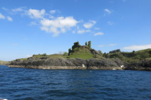 Castle Coeffin on Lismore Island by etive boat trips