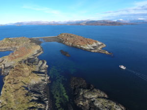 The Creags near oban by etive boat trips