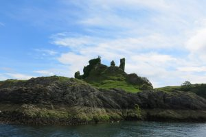 Castle Coeffin by etive boat trips