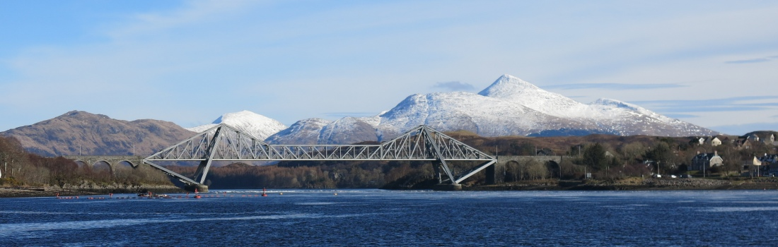 Cruachan behind Connel Bridge